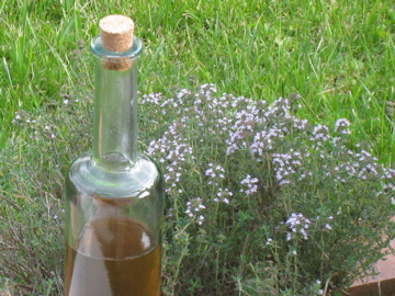 Thyme Syrup by Gateaupassion.com