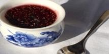 Confiture de figues rouges à la vanille